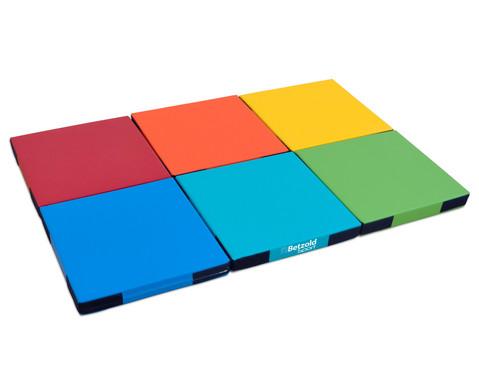 Regenbogen-Matten-Set 6 Stueck-1