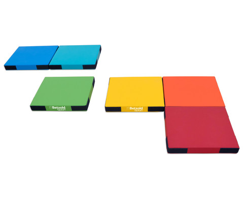 Regenbogen-Matten-Set 6 Stueck-7
