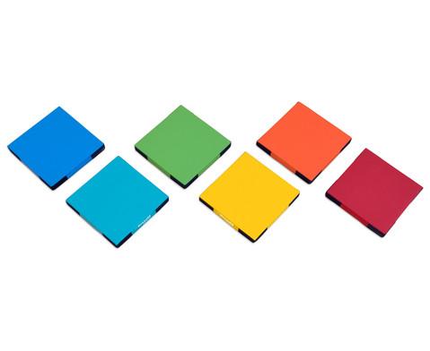 Regenbogen-Matten-Set 6 Stueck-9