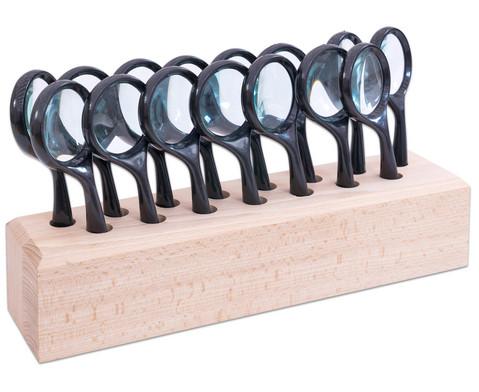 Lupenstaender mit 15 grossen Stiellupen-2
