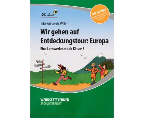 Lernwerkstatt Wir gehen auf Entdeckungstour Europa