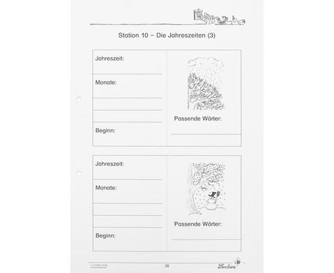 Lernwerkstatt Der Kalender - mein Wegweiser durchs Jahr-8