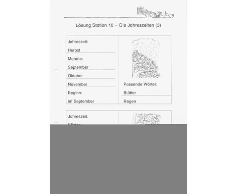Lernwerkstatt Der Kalender - mein Wegweiser durchs Jahr-9