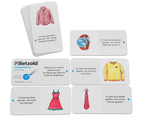 Tellimero Lesespiel Kleidung-1