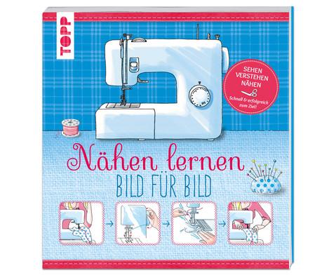 TOPP Buch Naehen lernen - Bild fuer Bild