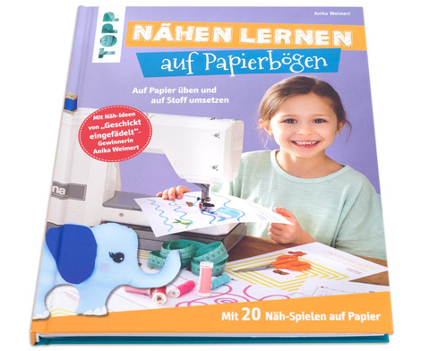 Topp Buch: Nähen lernen auf Papierbägen