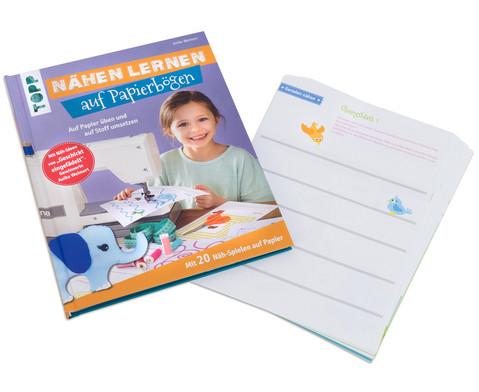 Buch Naehen lernen auf Papierboegen-2
