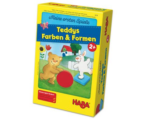 Meine ersten Spiele - Teddys Farben und Formen-2
