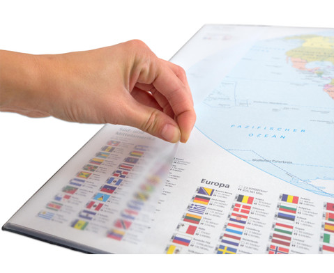 Schreibunterlage Weltkarte-2