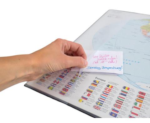 Schreibunterlage Weltkarte-3