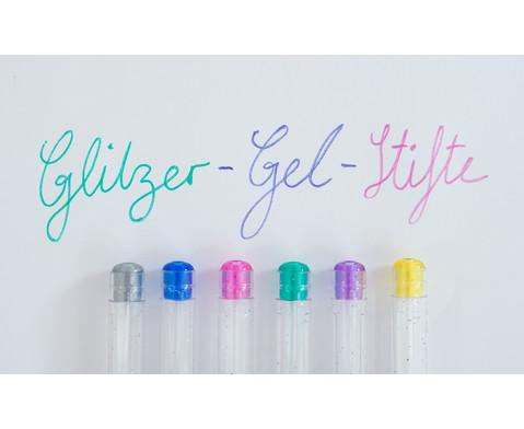 Glitter Gel Pen 6 Farben-3