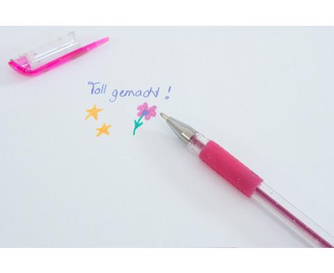 Glitter Gel Pen 6 Farben-4