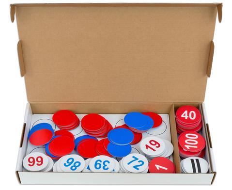 Zahlenraum 100 - magnetisches Tafelmaterial-2