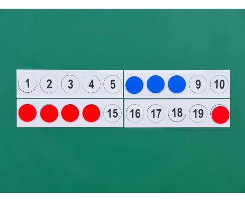 Zahlenraum 100 - magnetisches Tafelmaterial-5
