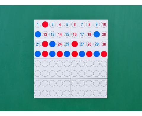 Zahlenraum 100 - magnetisches Tafelmaterial-6
