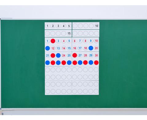 Zahlenraum 100 - magnetisches Tafelmaterial-7