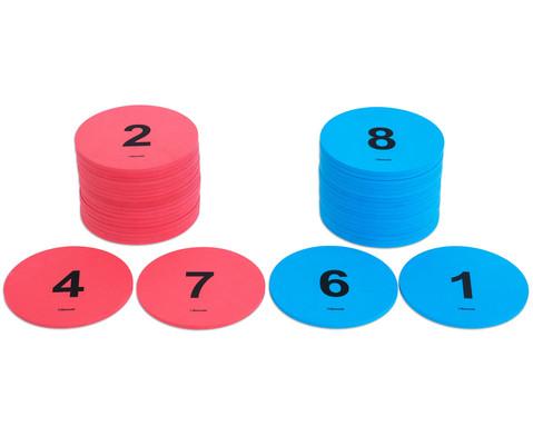 Zahlenkreise fuer bewegten Unterricht