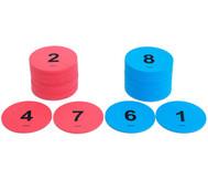 Zahlenkreise für bewegten Unterricht