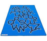 Teppich Buchstaben-Autobahn