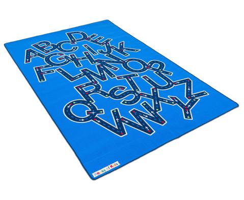Teppich Buchstaben-Autobahn-5