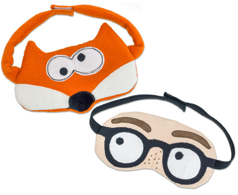 Augenbinde mit Klettverschluss
