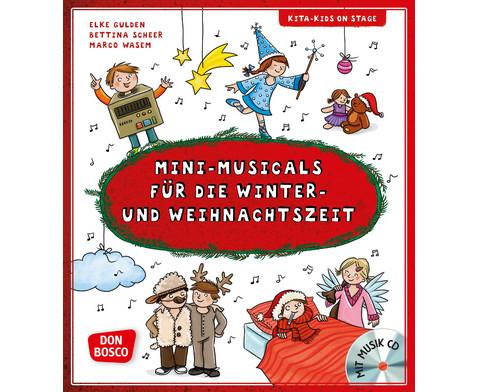 Mini-Musicals fuer die Winter- und Weihnachtszeit m Audio-CD-1