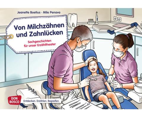 Bildkarten Von Milchzaehnen und Zahnluecken