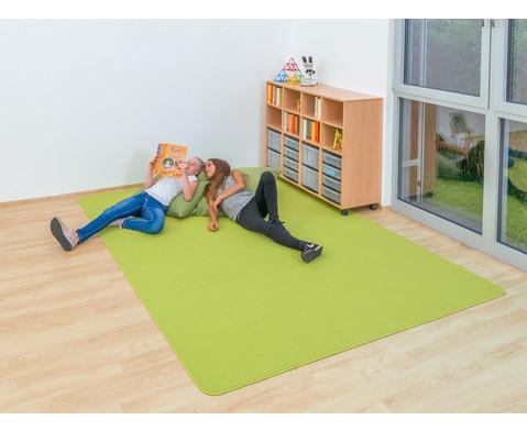 Kurzflor-Teppich 2 x 29 m-5