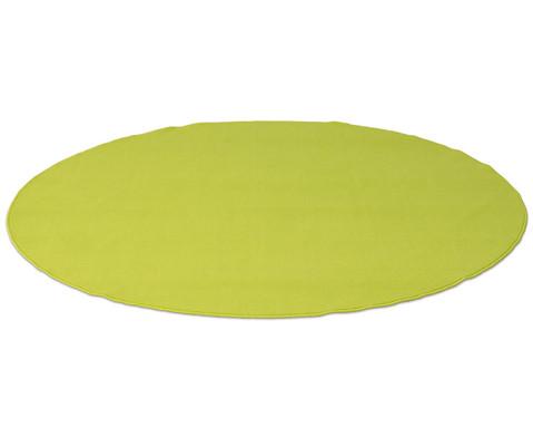 Kurzflor-Teppich rund  3m-2
