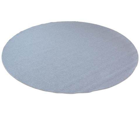 Kurzflor-Teppich rund  3m-5