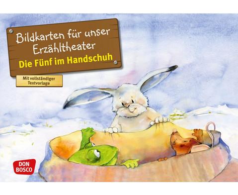 Bildkarten Die Fuenf im Handschuh