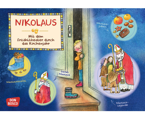 Nikolaus Kamishibai-Bildkartenset