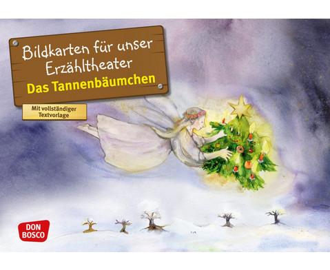 Bildkarten Das Tannenbaeumchen