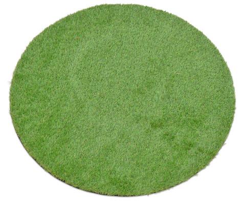 Grasteppich rund  88 cm-1