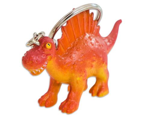Schluesselanhaenger Dino 4 Stueck im Set UEberraschungsmotive-4