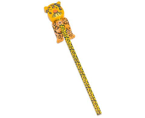 Bleistift Wilde Tiere 4 Stueck im Set UEberraschungsmotive-4