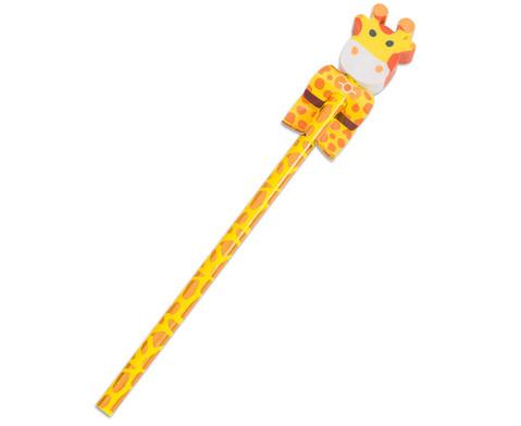 Bleistift Wilde Tiere 4 Stueck im Set UEberraschungsmotive-5