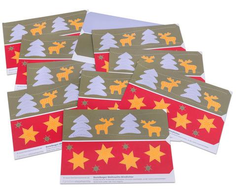 Prickel-Windlichter Weihnachten 10 Stueck-2