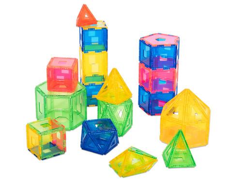 Xeo Kleines Klassenset mit 198 Bauteilen transparent