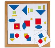Logik Lotto - geometrische Flächen