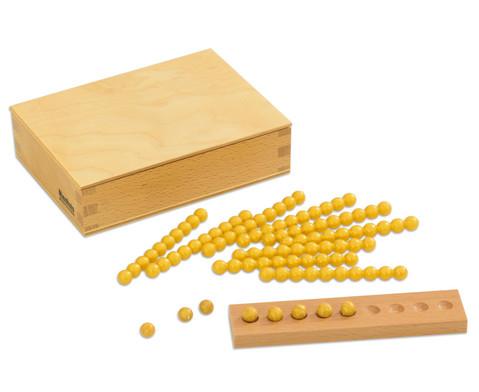 Montessori 10er Rechenperlen gold-3