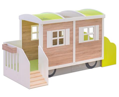 EduCasa Kinder Bauwagen-1