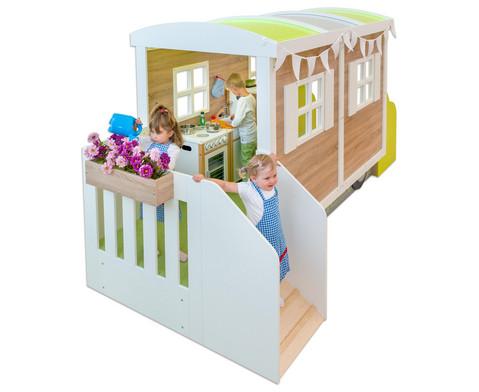 EduCasa Kinder Bauwagen-5