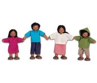 """Puppenhausfamilie """"südländisch"""""""