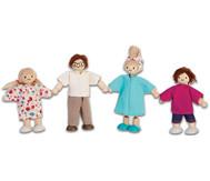 Puppenhausfamilie, 4 teilig