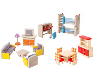 Puppenhausmöbel Set 2