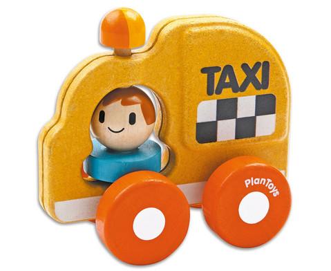 Holzfahrzeug Taxi