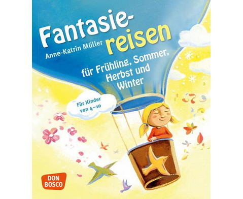 Buch Fantasiereisen fuer Fruehling Sommer Herbst und Winter