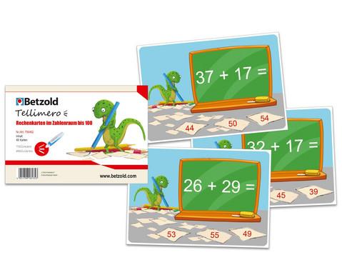 Tellimero Rechenkarten im ZR bis 100