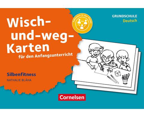 Cornelsen Wisch-und-weg Karten Silbenfitness